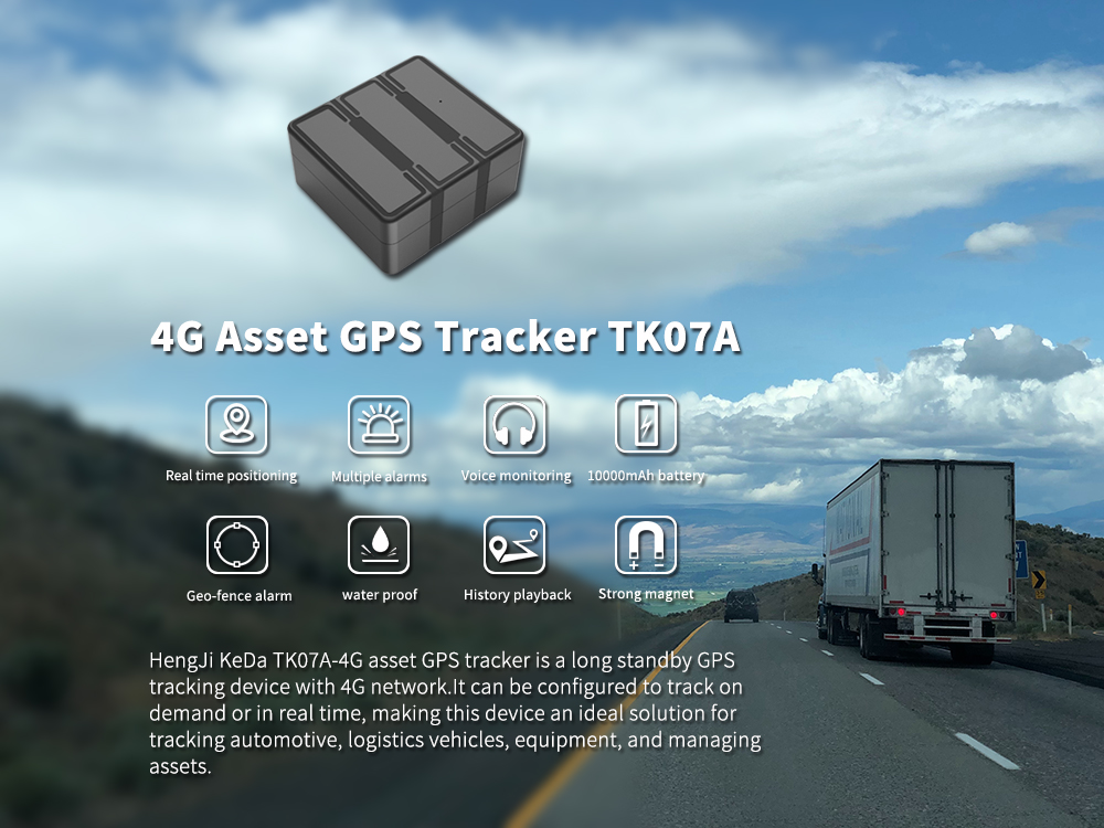 4G GPS tracker for logistic vehicle