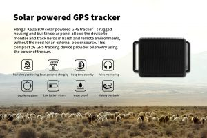 Solar powered GPS tracker for herds