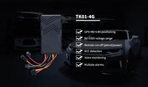 4G GPS tracker for vehicles