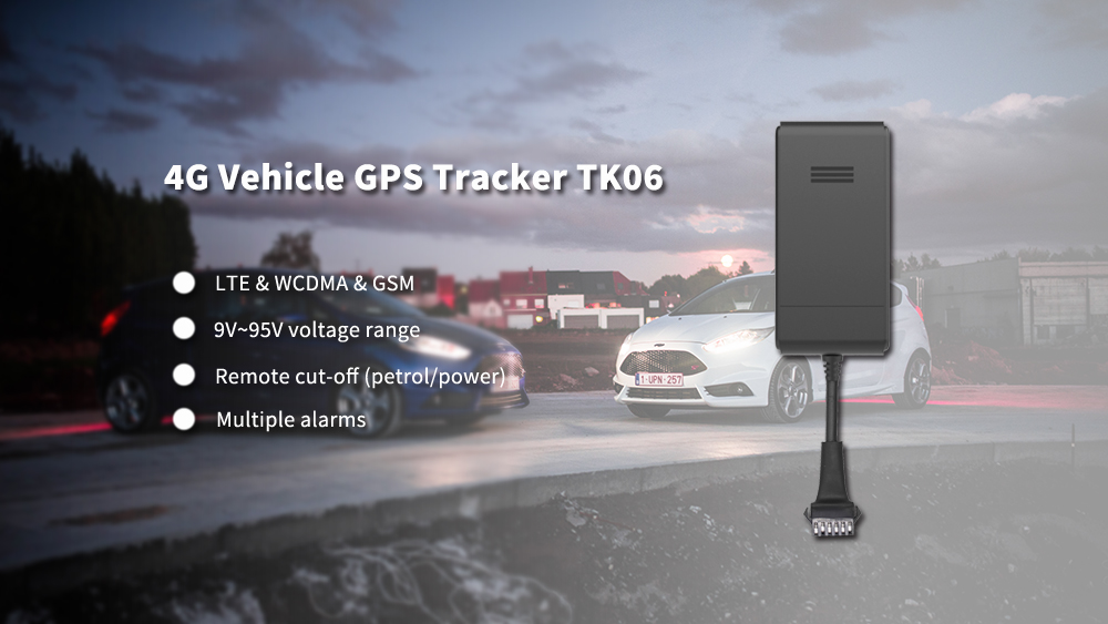 4G vehicle GPS tracker for transportation business