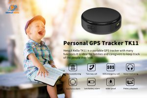 Personal GPS tracker for children and elderly