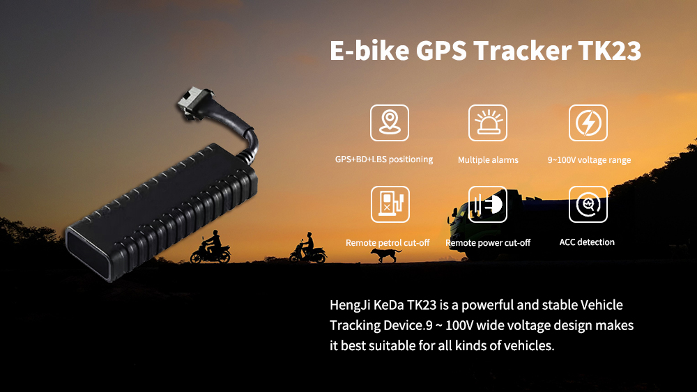 GPS Tracker for electronic motorcycle