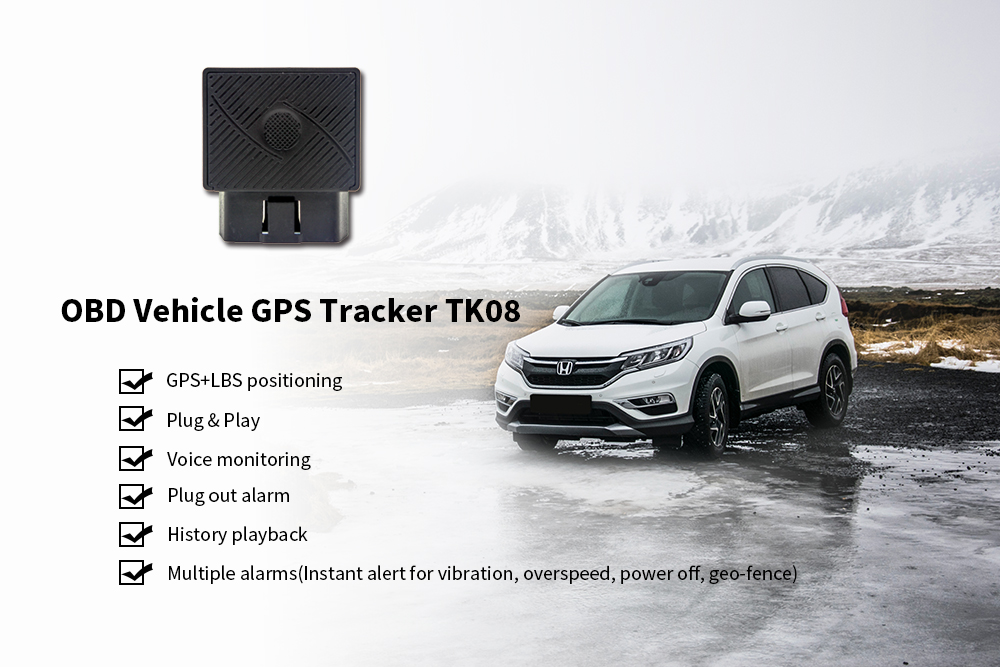 OBD GPS vehicle tracker