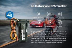 4G motorcycle GPS tracker