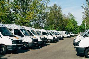 GPS tracker for fleet management