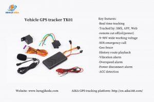 GPS tracker for fleet